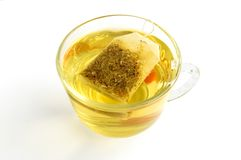 зеленый травяной чай Стоковые Изображения