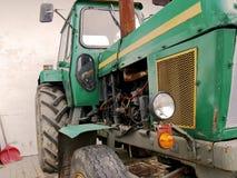зеленый трактор Стоковая Фотография RF