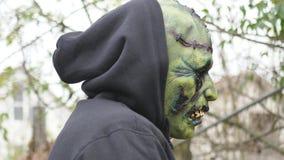 Зеленый уродский изверг Стоковое Фото