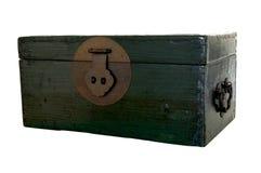 зеленый хобот деревянный Стоковые Изображения