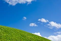 зеленый холм Стоковое Изображение