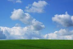 зеленый холм Стоковые Фото