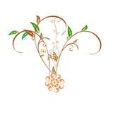Зеленый цветок Стоковые Изображения
