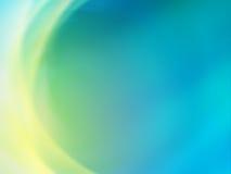 зеленый цвет абстрактной предпосылки голубой Стоковое Изображение