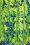 зеленый цвет абстрактной предпосылки голубой Стоковые Фото