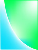 зеленый цвет абстрактной предпосылки голубой Стоковые Фотографии RF
