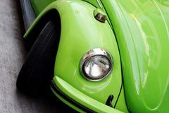 зеленый цвет автомобиля Стоковое Фото