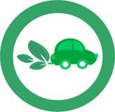 зеленый цвет автомобиля Стоковые Изображения RF