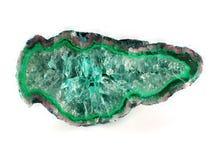 зеленый цвет агата Стоковые Изображения