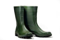 зеленый цвет ботинка Стоковое Изображение RF