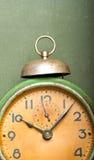 зеленый цвет будильника Стоковое Фото