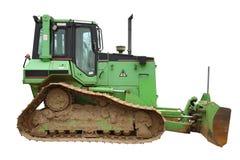 зеленый цвет бульдозера Стоковое Изображение RF