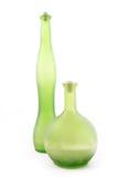 зеленый цвет бутылок 2 Стоковая Фотография