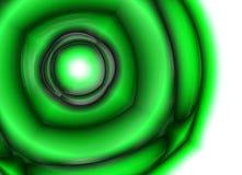 зеленый цвет вверх по тому Стоковая Фотография