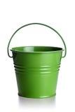 зеленый цвет ведра Стоковые Фото