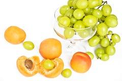 зеленый цвет виноградины абрикосов зрелый Стоковые Фото