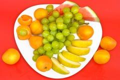 зеленый цвет виноградины абрикосов зрелый Стоковое фото RF