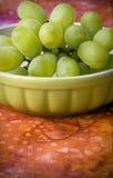 зеленый цвет виноградин пука Стоковое Изображение RF