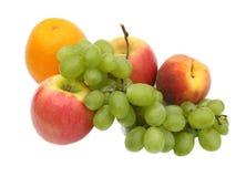 зеленый цвет виноградин стоковое изображение rf