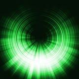 зеленый цвет влияния затмения Стоковые Фотографии RF