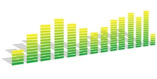 зеленый цвет выравнивателя Стоковое Фото