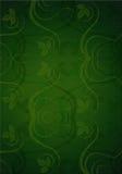Зеленый цвет выходит предпосылка Стоковая Фотография RF