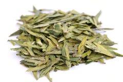 зеленый цвет выходит чай Стоковое фото RF