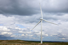 зеленый цвет генератора энергии Стоковое Фото