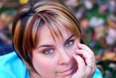 зеленый цвет глаз Стоковые Изображения RF