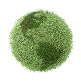 зеленый цвет глобуса Стоковые Изображения