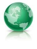 зеленый цвет глобуса бесплатная иллюстрация
