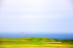 зеленый цвет гольфа Стоковое Изображение RF