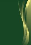 зеленый цвет градиента предпосылки Стоковое Изображение RF