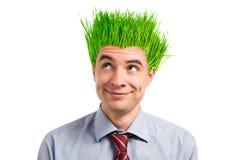 зеленый цвет дела Стоковые Фото