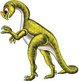 зеленый цвет динозавра Стоковое Фото
