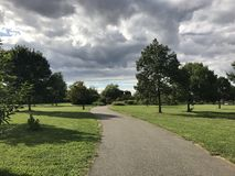 Зеленый цвет дороги Стоковая Фотография
