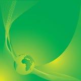 зеленый цвет земли предпосылки Стоковые Изображения RF