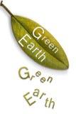 зеленый цвет земли Стоковое Изображение