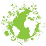 зеленый цвет земли Стоковое Изображение RF