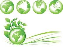 зеленый цвет земли Стоковая Фотография RF