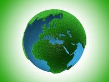 зеленый цвет земли Стоковая Фотография