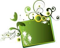 зеленый цвет знамени Стоковое Изображение RF