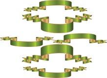 зеленый цвет знамен Стоковая Фотография RF