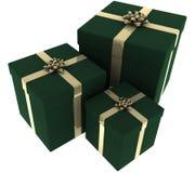 зеленый цвет золота представляет 3 иллюстрация штока
