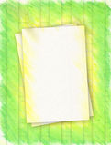 зеленый цвет золота рамки стоковые фото