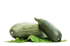 зеленый цвет изолировал белизну сердцевины vegetable Стоковое Фото