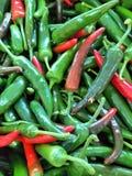 Зеленый цвет и горячий Стоковые Изображения