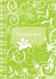 зеленый цвет книги Стоковое фото RF