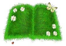 зеленый цвет книги Стоковое Изображение