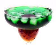 зеленый цвет коктеила Стоковое Изображение